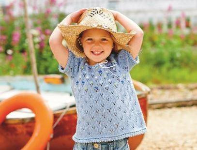 Girls Lace Tee - Pattern of the Week