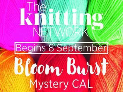 Bloom Burst Mystery CAL Colour Pack - free crochet along