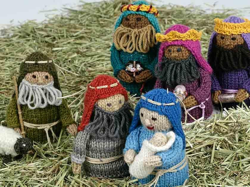 Free Nativity Christmas KAL