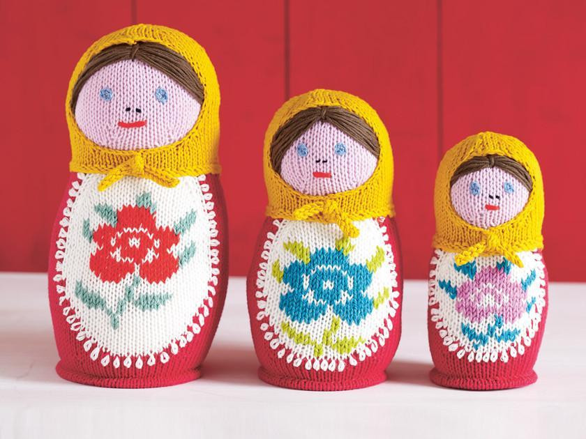 Russian dolls to knit right now