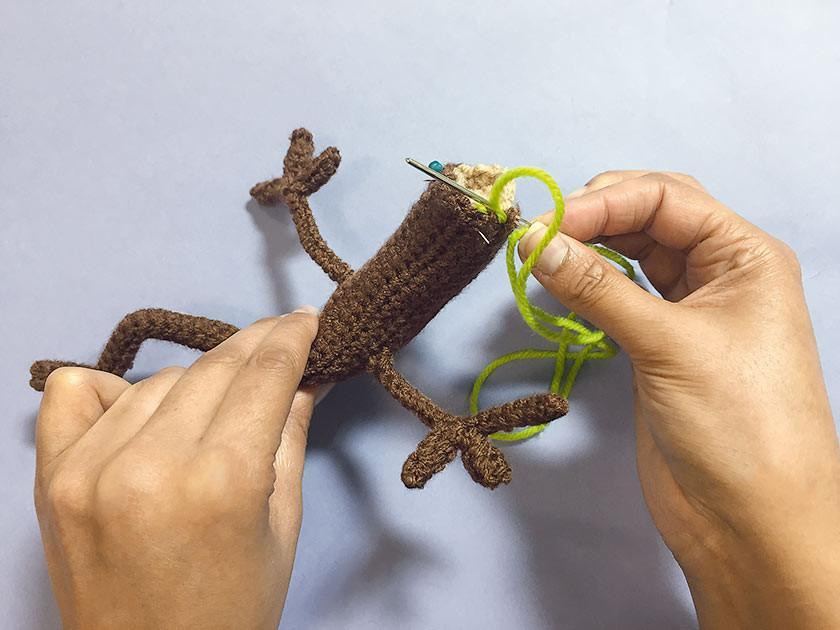 Tips for finishing your Stick Man and family crochet toys
