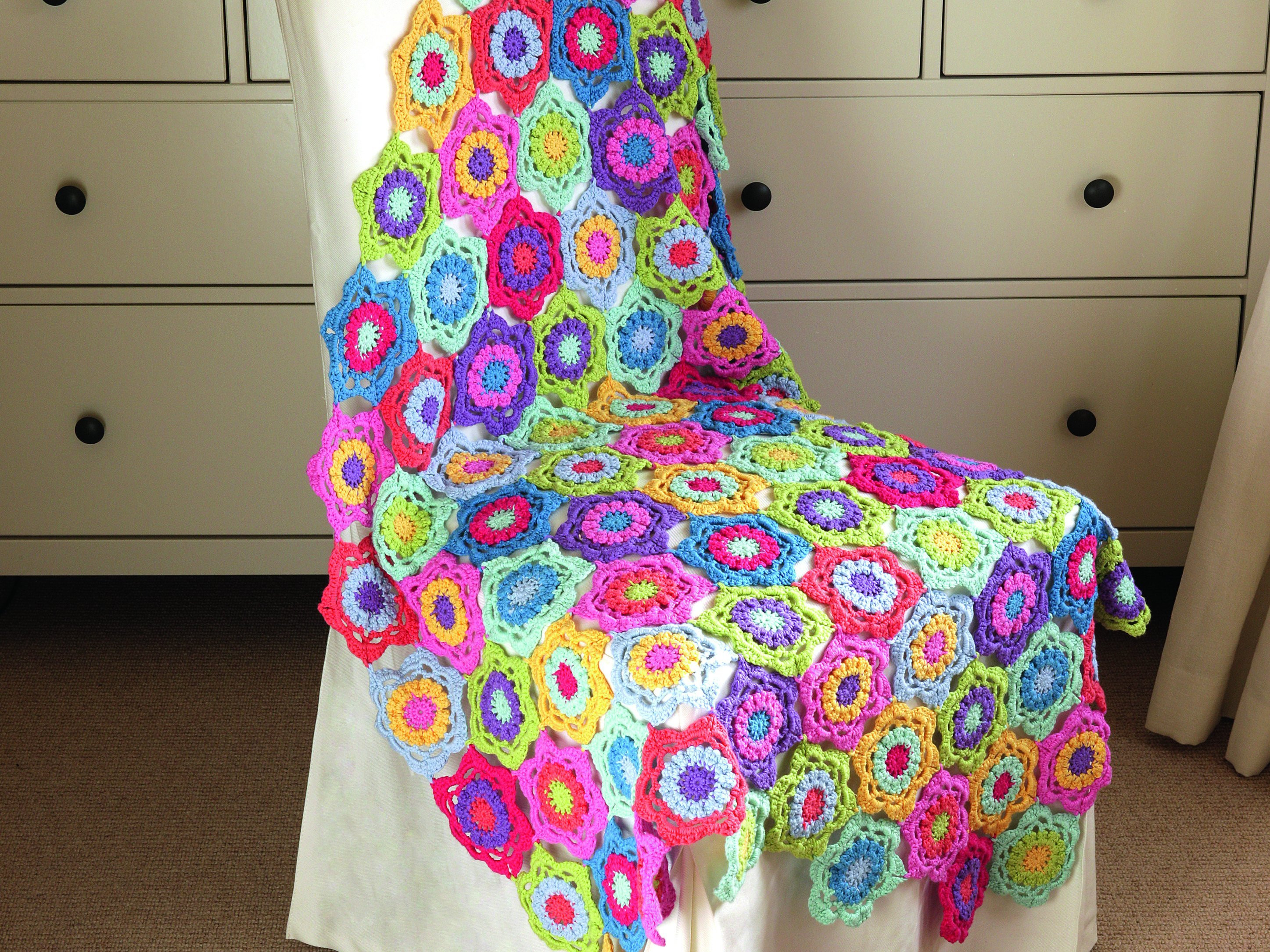 Technicolour Floral Blanket- Best Bits and more!