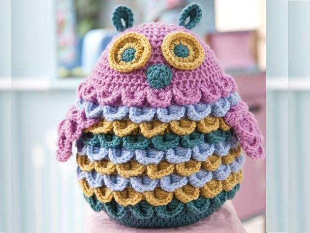 Pattern of the Week - Toy Feathered Owl