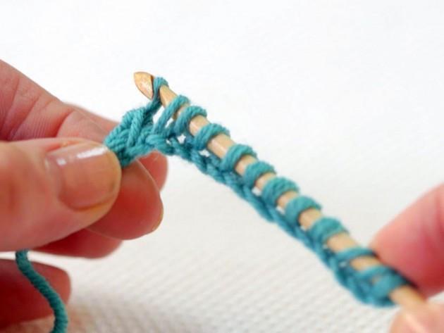 How to crochet: Tunisian crochet