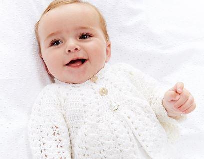 Vintage Baby Jacket - Pattern of the Week