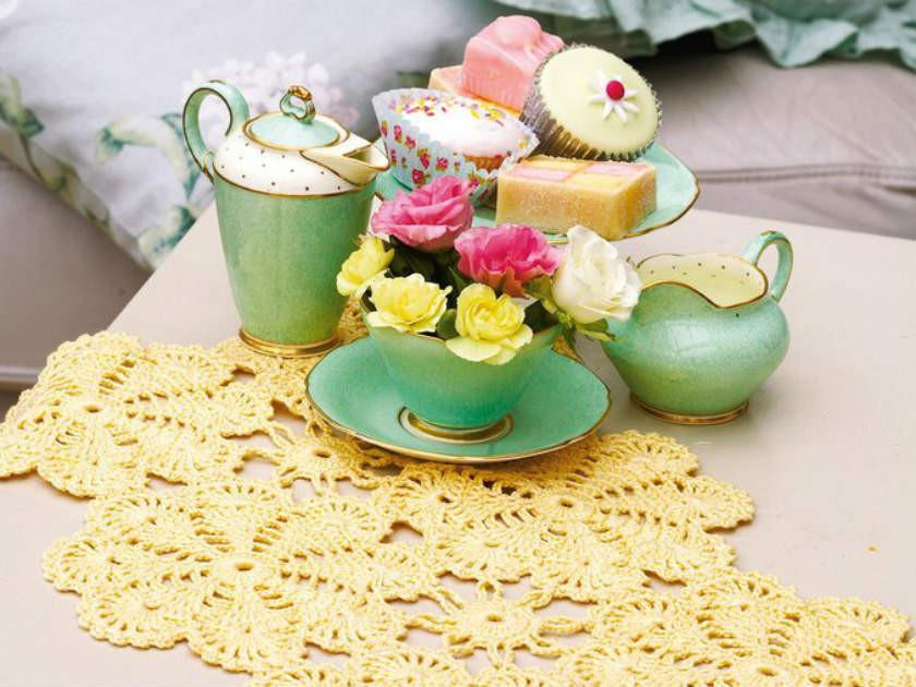 How to get the shabby chic look with pretty crochet patterns