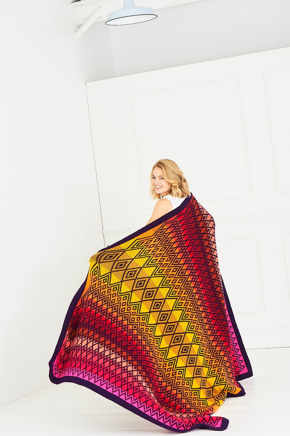 Tequila Sunrise Queen Blanket Colour Pack - Large