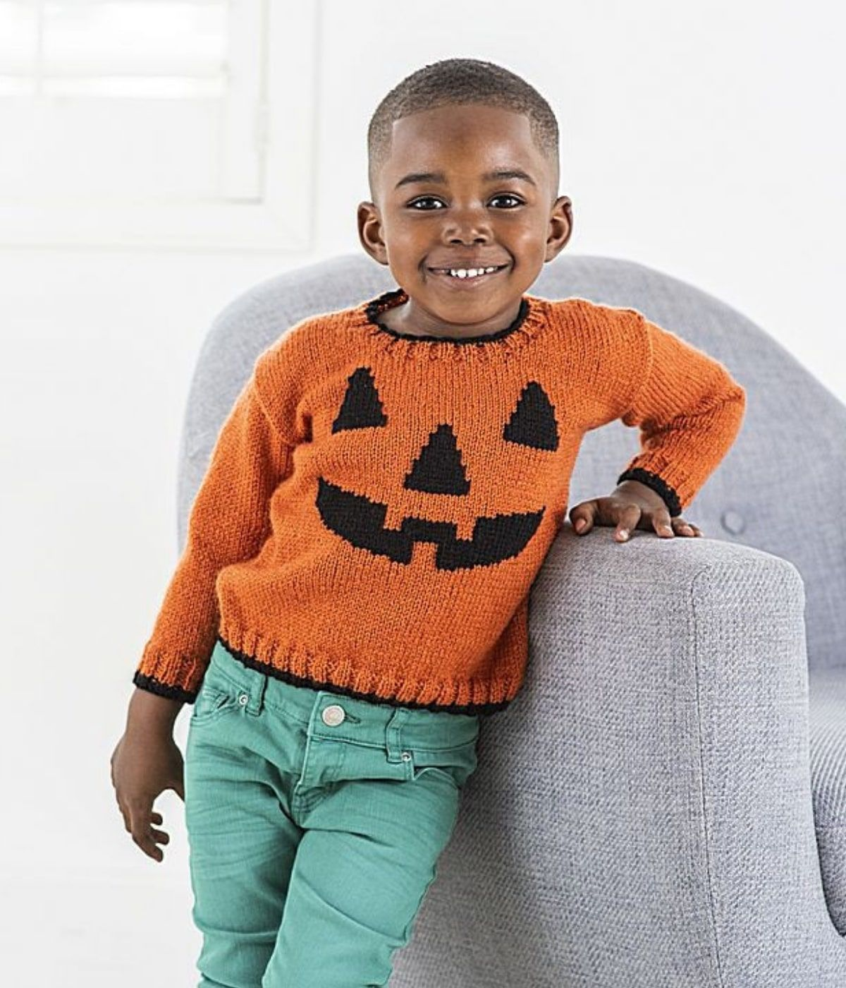 Pumpkin Jumper Knitting Pattern