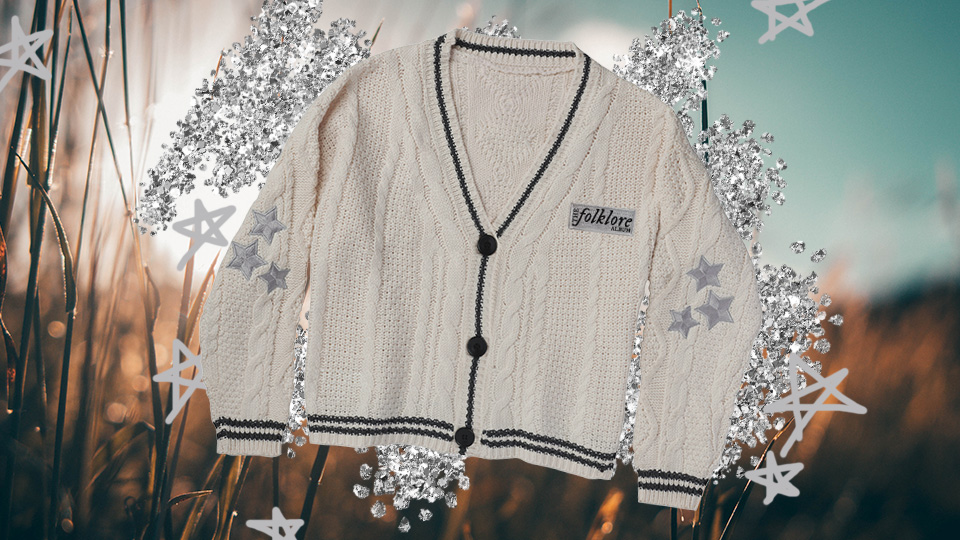 Taylor Swift Folklore Cardigan