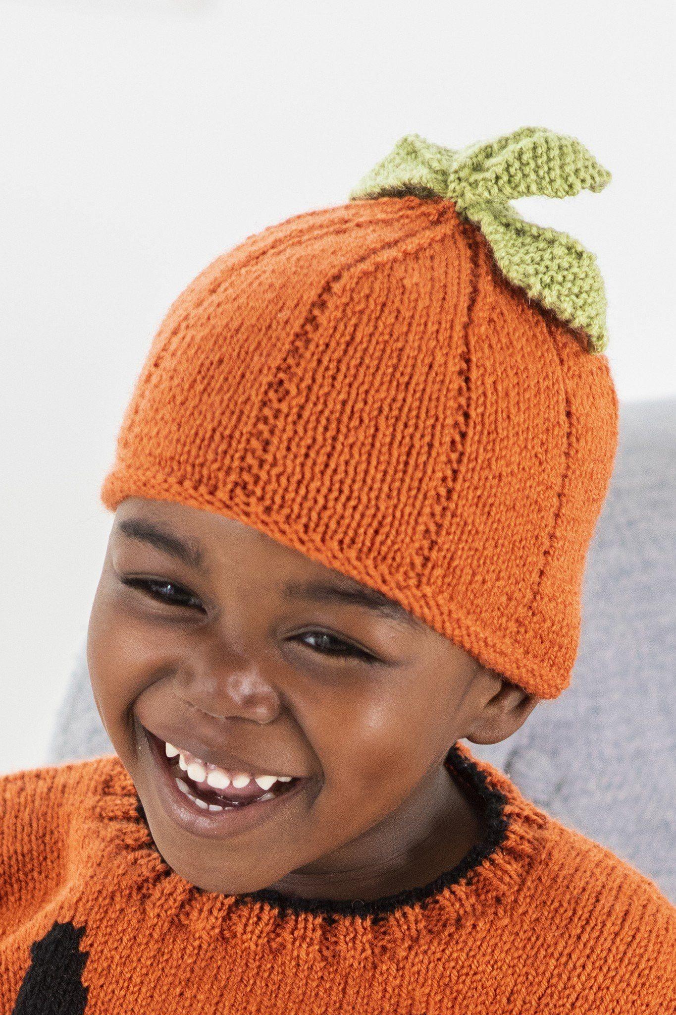 Pumpkin Hat Knitting Pattern
