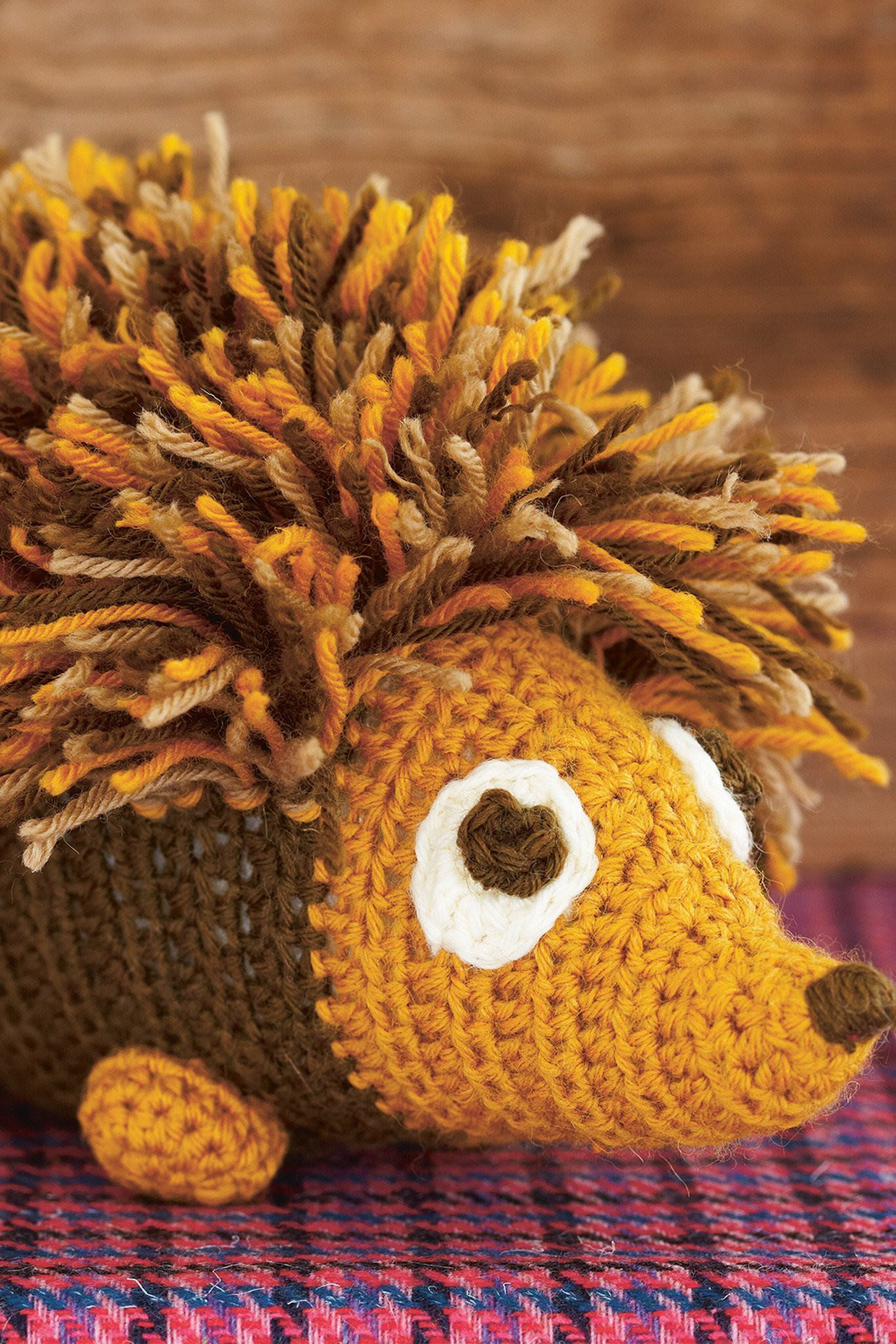 Hedgehog Toy Crochet Pattern