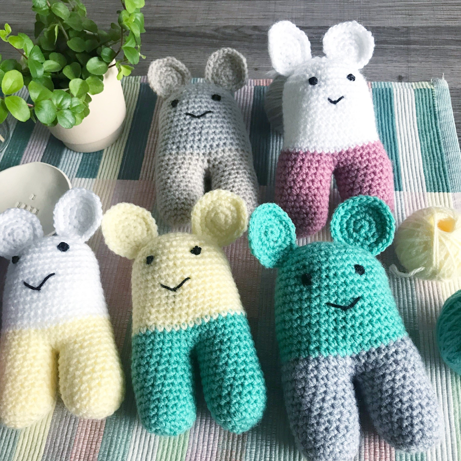 12 Adorable Free Toy Crochet Patterns • Simply Collectible Crochet | 1772x1772