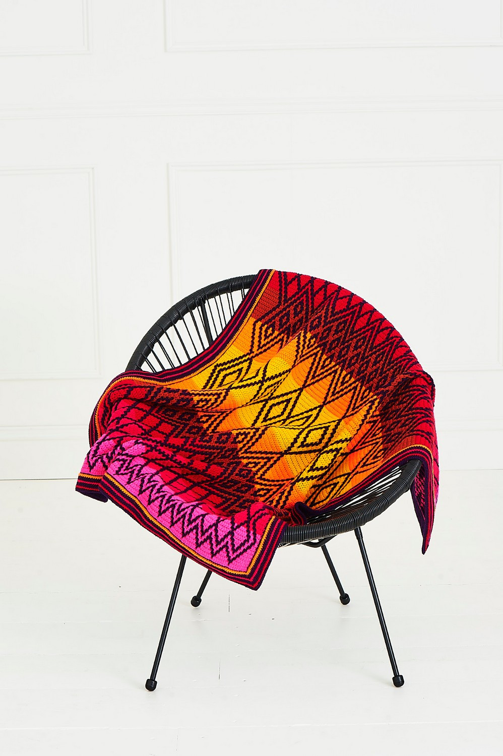 Tequila Sunrise Queen Blanket Colour Pack - Small