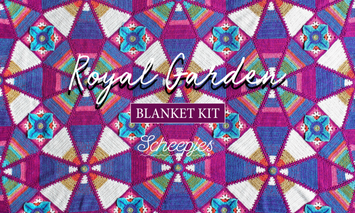 Scheepjes Royal Garden Crochet Blanket