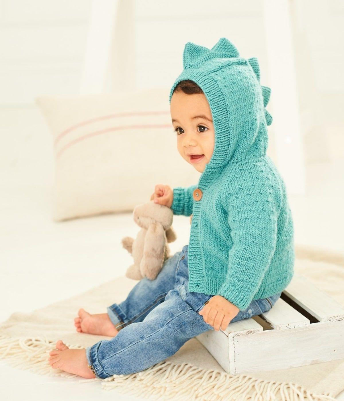 Jackets in Stylecraft Bambino DK