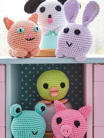 Amigurumi Animal Toy Crochet Pattern