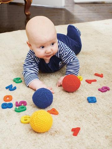 Baby Ball Knitting Pattern