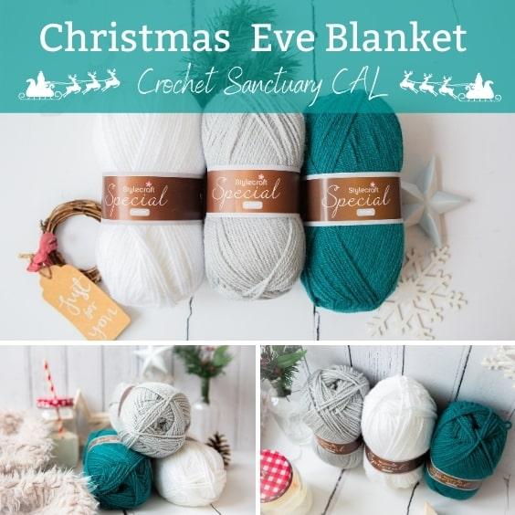 Christmas Eve - Crochet Sanctuary Blanket Kit CAL