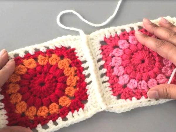 crocheted seam how to