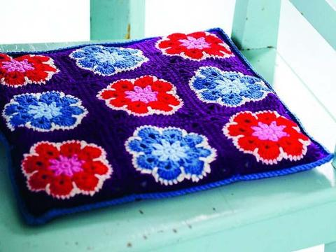 floral seat cushion
