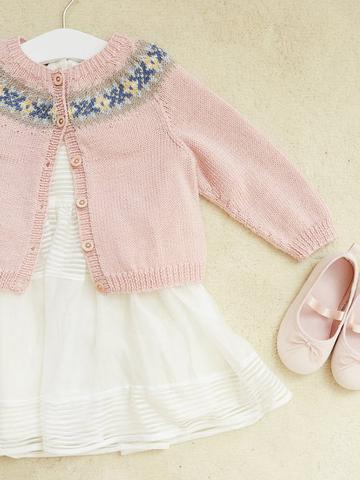 A Princess Charlotte cardigan to knit | The Knitting Network