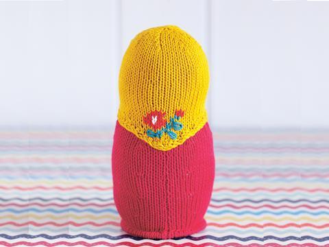 Russian dolls knitting pattern