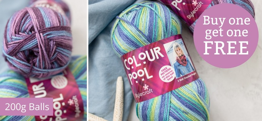 Stylecraft Colour Pool - Buy One Get One Free