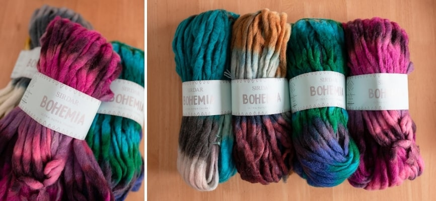 Sirdar Bohemia - 3 for £12