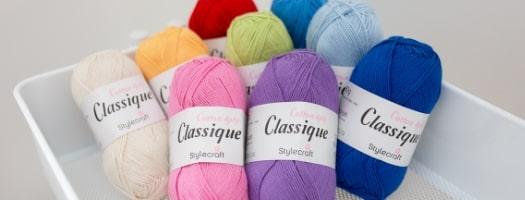 Classique Cotton 4 Ply - 8 for £12