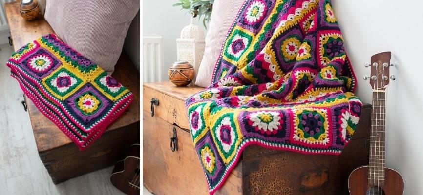 Batik Flower Blanket Colour Pack - Now in Stock
