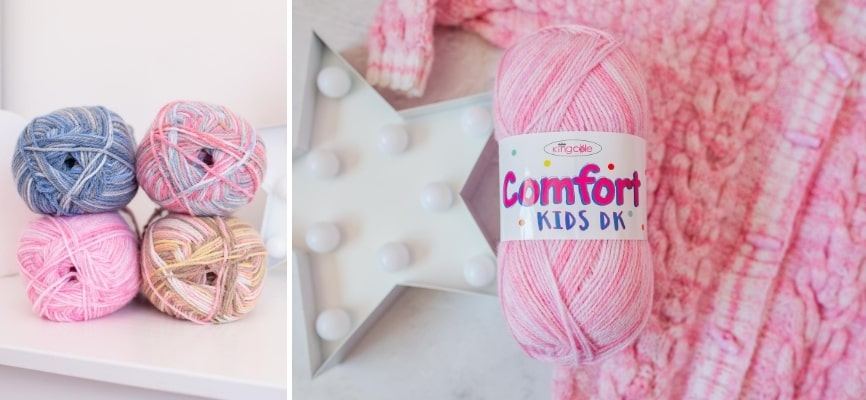 King Cole Comfort Kids DK - Now in Stock