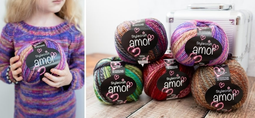 Stylecraft Amor - Now in Stock