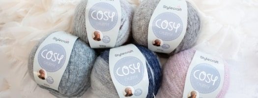Stylecraft Cosy Chunky - 5 for £10