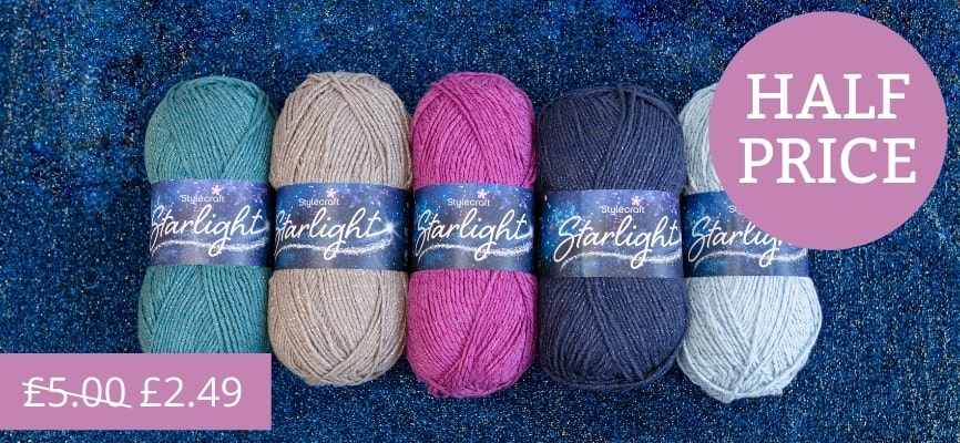 Stylecraft Starlight - Half Price