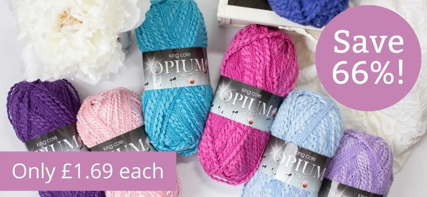 King Cole Opium - Only £1.69