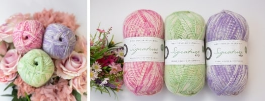 Signature Florist 4 Ply - 3 for £11.99