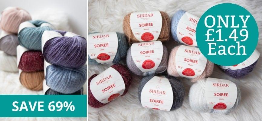 Sirdar Soiree - £1.49 Each