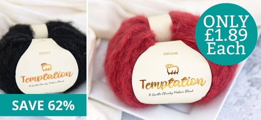 Sirdar Temptation - £1.99 Each