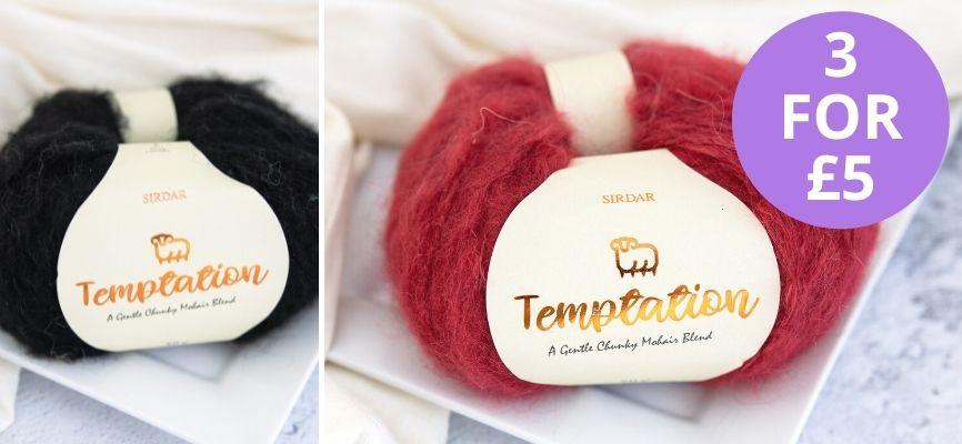 Sirdar Temptation - 3 For £5