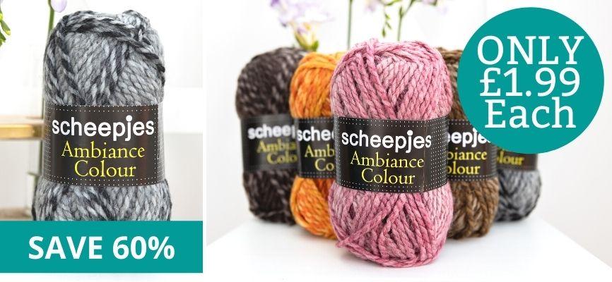 Scheepjes Ambiance Colour - £1.99 Each