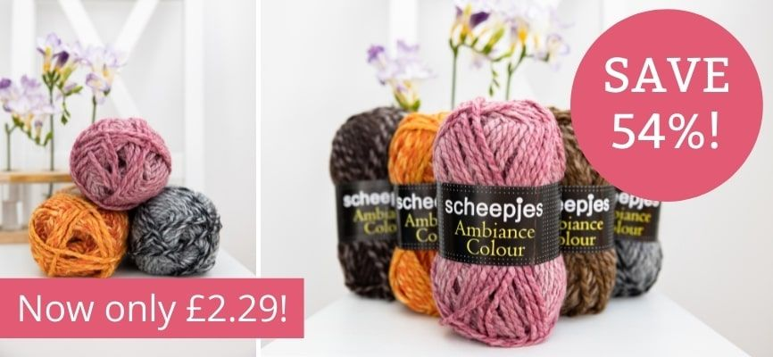 Scheepjes Ambiance Colour - Only £2.29