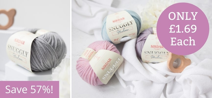 Sirdar Snuggly Heirloom - Only £1.69