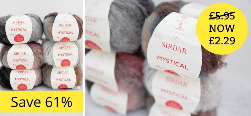 Sirdar Mystical - Now £2.29