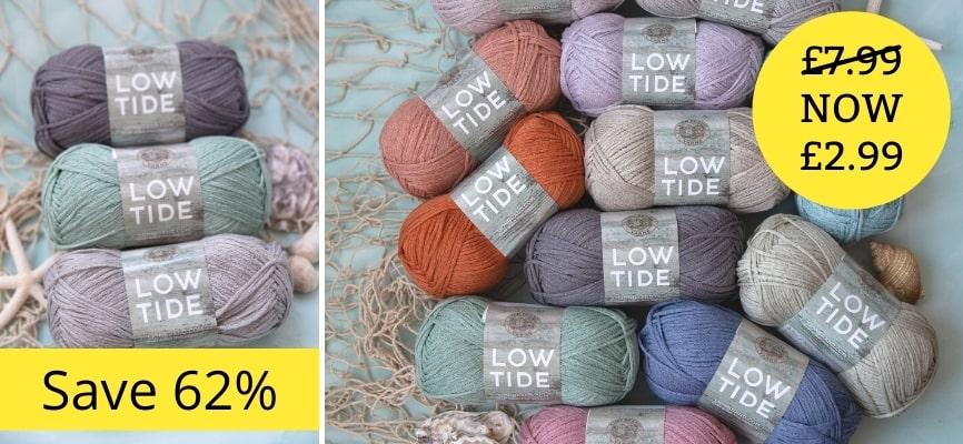Lion Brand Low Tide- £2.99 Each