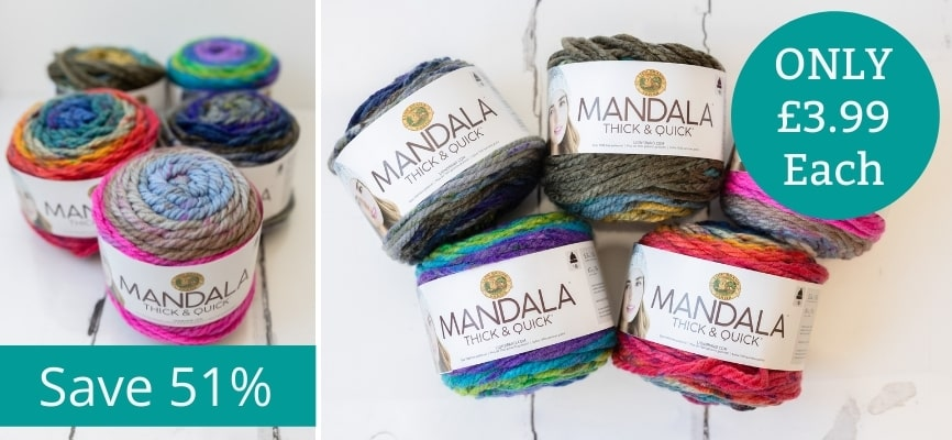 Lion Brand Mandala Thick and Quick - £3.99 Each