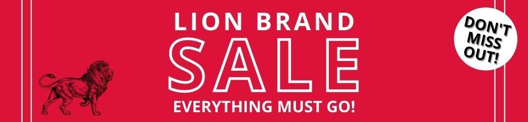 Lion Brand Sale