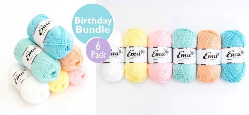 Emu Classic DK Birthday Bundle 6 Ball