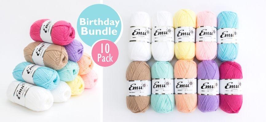 Emu Classic DK Birthday Bundle 10 Ball