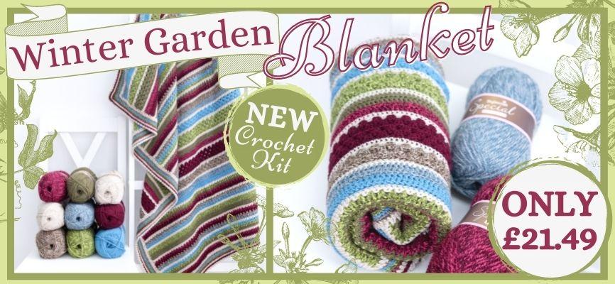 Winter Garden Blanket - Only £21.49