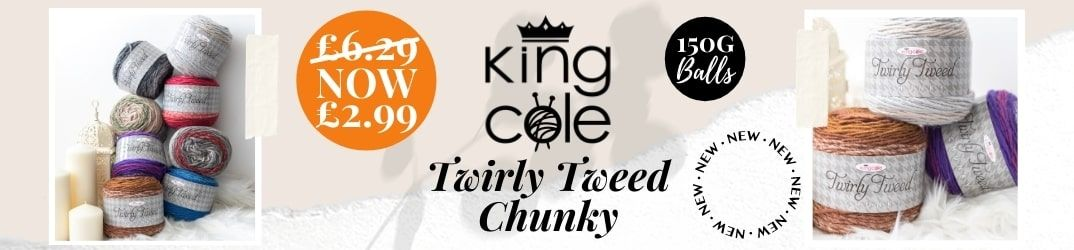King Cole Twirly Tweed Collection